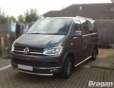 To Fit 04-10 Volkswagen Transporter T5 LWB STAINLESS STEEL Top Metal Roof Rails