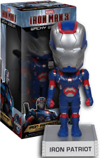 Iron Man 3 - Iron Patriot Wacky Wobbler Bobble Head NEW The Avengers  Funko