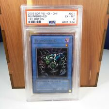 2003 Relinquished 1st Edition PSA Graded Card (EX-MT 6) ~ Fast Free Shipping!