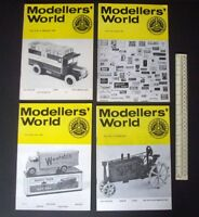 1974/75 Vintage MikanSue Modellers' World Collectors Magazine Complete Vol 4