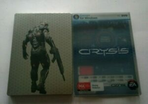 PC CRYSIS PC STEELBOOK VIDEOGAME VIDEO GAME FREE POSTAGE