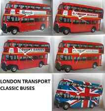 LONDON TRANSPORT BUS WALL CLOCK.REGENT (RT) / ROUTEMASTER.NEW & BOXED.5 STYLES.