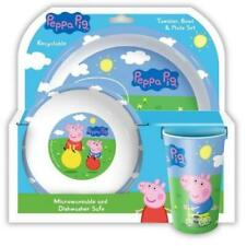 Peppa Pig And George Tumbler, Bowl And Plate Set