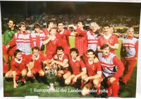FC Liverpool + Europapokal Landesmeister Winner 1984 + Fan Big Card Edition A137