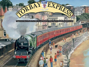 Torbay Express Metal Wall Sign (3 sizes - Small / Large and Jumbo)