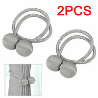 2 Pcs Magnetic Ball Curtain Tiebacks Tie Backs Buckle Clips Holdbacks Hook Cords