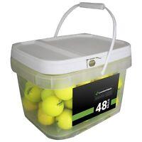 48 Bridgestone e6 Yellow Mint Used Golf Balls AAAAA *In a Free Bucket!*