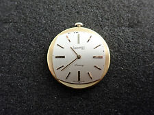 VINTAGE EBERHARD AND CO WRISTWATCH MOVEMENT CAL 231 RUNNING AND KEEPING TIME