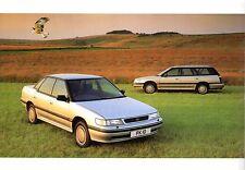 Subaru Legacy 2.0 & 2.2 MPFi 1991-93 UK Market Sales Brochure DL GL GX