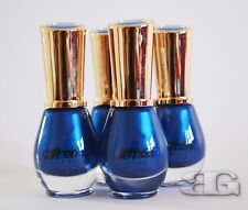 SAFFRON LONDON NAIL POLISH LONG LASTING VARNISH INDIGO,  Fast delivery
