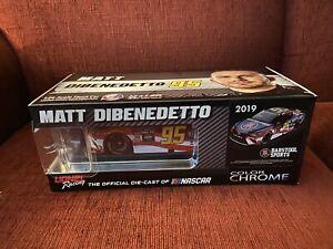 MATT DIBENEDETTO 2019 BARSTOOL SPORTS 1/24 DIECAST CAR COLOR CHROME ARC CAMRY