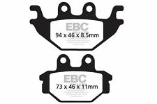 FIT SYM  Trackrunner 200 Quad 05>09 EBC FRONT ORGANIC BRAKE PADS
