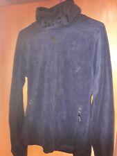 Bench Fleece Jacke XL Blau Funnel Neck