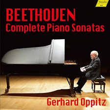 GERHARD OPPITZ-BEETHOVEN: COMPLETE PIANO...-IMPORT 9 CD WITH JAPAN OBI X30