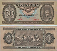 HUNGARY 20 FORINT 1965 P169d UNCIRCULATED