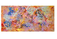 Quadro astratto moderno olio su tela dipinto a Mano cm 100 di Mariano Moscati