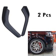 Pair Universal Car Front Shovel Car SUV Racing Bumper Splitter Spoiler Protector