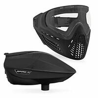 Virtue Spire IR Electronic Paintball Loader & VIO Ascend AF Mask Bundle - Black