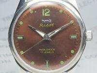Vintage Hmt Pilot Mechanical Handwinding Movement Mens Wrist Watch VG147