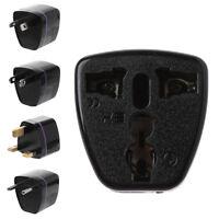 AU/US/EU/UK To Universal AC Power Wall Travel Plug Socket Converter Adapter