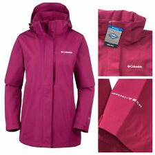 COLUMBIA Omni-Tech Women's Forest Park™ W Jacket Wine Berry S / L NEW RRP £135