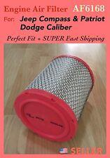 AF6168 ENGINE AIR FILTER FOR JEEP COMPASS PATRIOT DODGE CALIBER Fast Ship!!!