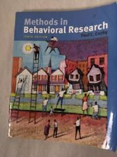 Methods in Behavioral Research by Paul C. Cozby 10th Edition