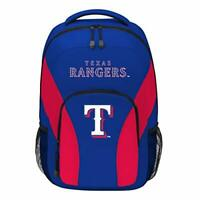 The Northwest Company MLB Texas Rangers DraftDay Backpack, 18-Inch, Blue