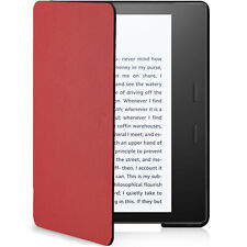 Kindle Oasis 2019 Case | Cover Shell Ultra Slim Light | Red + Stylus Protector