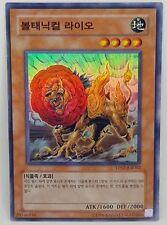 Yu Gi Oh Botanical Lion TP02-KR002  Korean