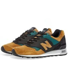 New Balance M577TGK - Made in England Grey, Tan & Teal Zapatillas