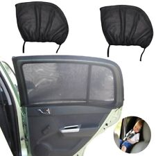 Large 2x Car Sun Shade Covers Blind Mesh Side Door Window Sunscreen UV/Sun Block