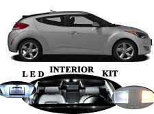 LED Package - Interior + License + Vanity + Reverse for Hyundai Veloster 12Pcs