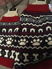 Christmas Fairisle Jumper for Dogs Large or Small