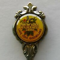 Top Of Aust. Wilderness Lodge Cape York Qld Souvenir Spoon Teaspoon (T188)