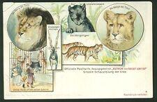 Postcard - Barnum & Bailey Circus