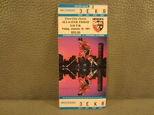 """1991 NHL All Star Game Weekend TIicket Stub Friday """"NHL HEROES DAY"""""""