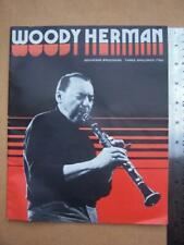 Jazz Ephemera  Woody Herman   15 page program