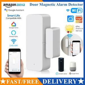 Home Security WiFi Smart Door Window Sensor Magnetic Detector Burglar Alarm 2020