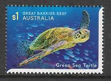 AUSTRALIA 2018 REEF GREEN SEA TURTLE 1v MNH