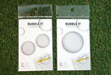 "Bubble ""Post it"" -  2EA 1set transparent  Sticky Note ""New!"""