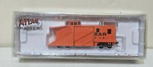 Bangor & Aroostook Railroad Orange Russell Snow Plow X76 Atlas 50005132 N