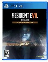 PLAYSTATION 4 PS4 VIDEO GAME RESIDENT EVIL BIOHAZARD GOLD EDITION BRAND NEW