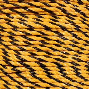 Golberg Twisted Polypropylene Rope - Water Chemical & Oil Resistance - USA Made