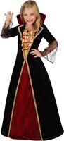 Déguisement Fille Dame Médiévale 5/6 ans Costume Enfant Vampire NEUF