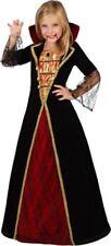 Déguisement Fille Vampire Médiévale 5/6 ans Costume Enfant Halloween