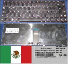 Teclado Qwerty Latino LENOVO Ideapad Z370,NSK-B6PSQ 9Z.N5TSQ.P1E 25-200810 Negro