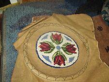 Hooked Rug Primitive Joan Moshimer Kennebunkport Me Half Done