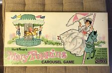 Vintage 1964 Mary Poppins Carousel Board Game Complete