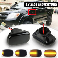 LED Dynamic Turn Signal Side Marker Light For Toyota Corolla Camry Hilux Prius